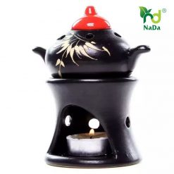 Đèn xông tinh dầu ấm trà Nada Oils