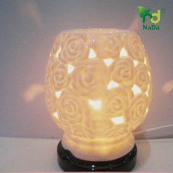 Đèn xông tinh dầu bông hồng Nada Oils