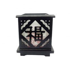 Đèn xông khuếch tán tinh dầu dạng gỗ Nada Oils - NDĐ1278