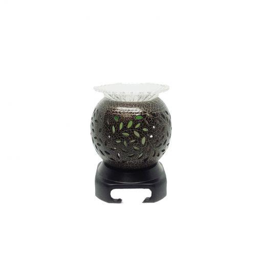 Đèn xông tinh dầu gốm lá nhỏ Nada Oils