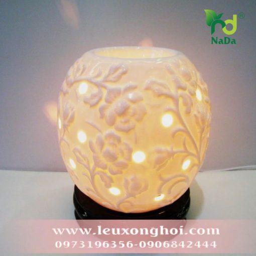Đèn xông tinh dầu hoa hồng dây Nada Oils