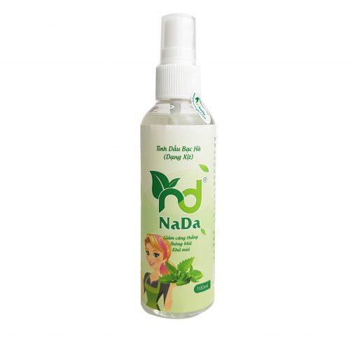 tinh dầu xịt bạc hà Nada Oils