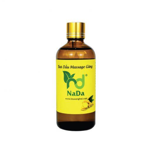 Tinh dầu massage gừng Nada