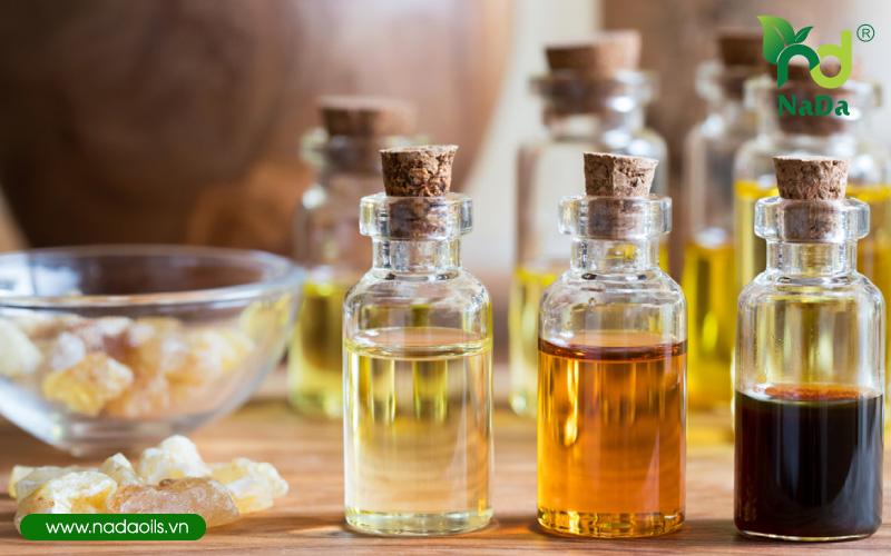 Làm thơm cơ thể bằng tinh dầu