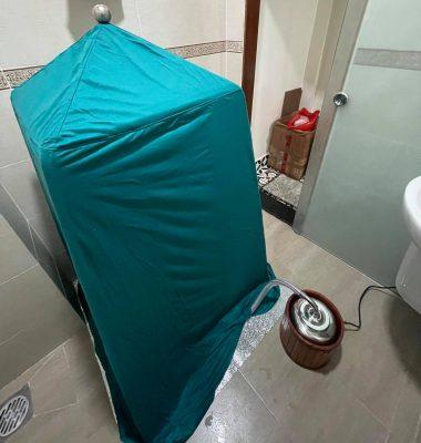 Chiếc lều xông hơi của T.A